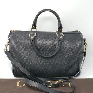 100% Auth Gucci Guccissima 2 Way Handle Tote Bag